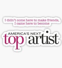 America's Next Top Artist Sticker