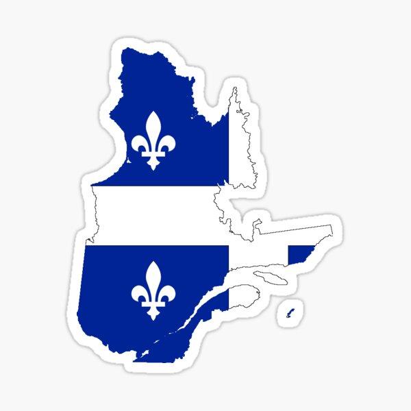 Quebec Sticker