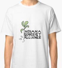 Indiana Forest Alliance (White) Classic T-Shirt
