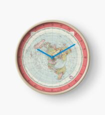 Flat Earth Clock
