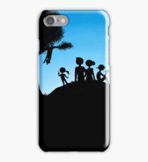 Peaceful Family Outing iPhone Case/Skin