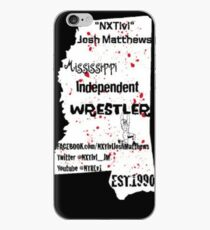 NXTlvl Josh Matthews MS Indy Wrestler iPhone Case