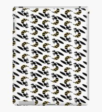 Yellow Jacket Insect Print iPad Case/Skin