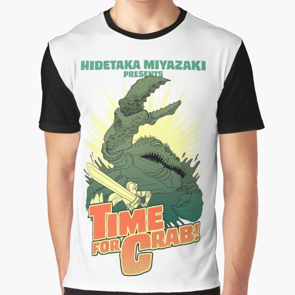 Time for Crab Graphic T-Shirt