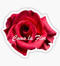 Como la Flor Sticker