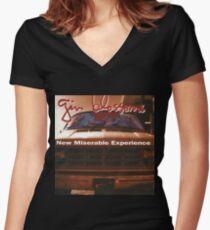 New Miserable Women's Fitted V-Neck T-Shirt