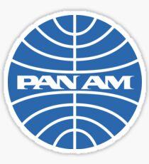PAN AM - (Pan American World Airways) Sticker Sticker