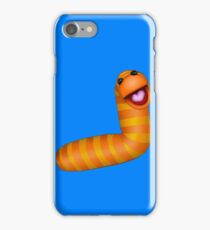 A fuzzy little worm iPhone Case/Skin