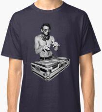 DJ Abraham Lincoln by Basement Mastermind Classic T-Shirt
