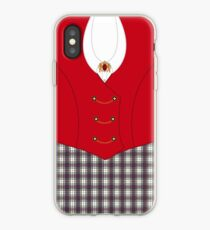 Gently with a chainsaw iPhone Case