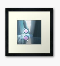 3d abstract Framed Print