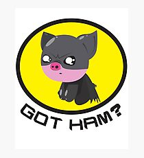 Got Ham? Piggy Photographic Print