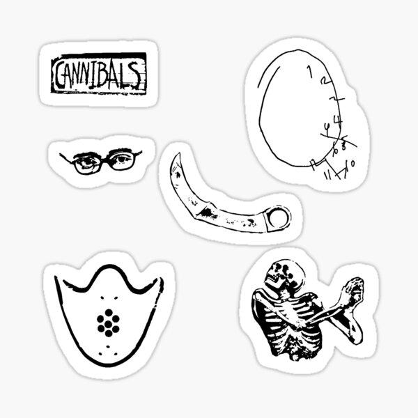 Hannibal Symbols Pegatina