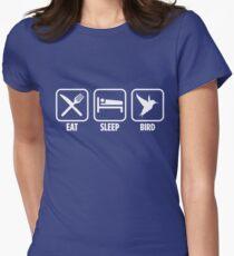 Bird Birding  Womens Fitted T-Shirt