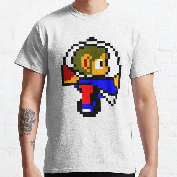 Alex Kidd en Miracle World Helicopter Camiseta clásica