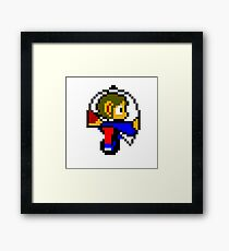 Alex Kidd in Miracle World Helicopter Framed Print