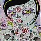 Day of the Dead - Lady Calavera by Concetta Kilmer