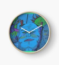 shadows of the past Clock