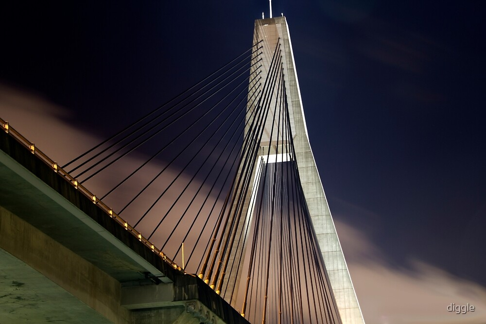 ANZAC Bridge by diggle