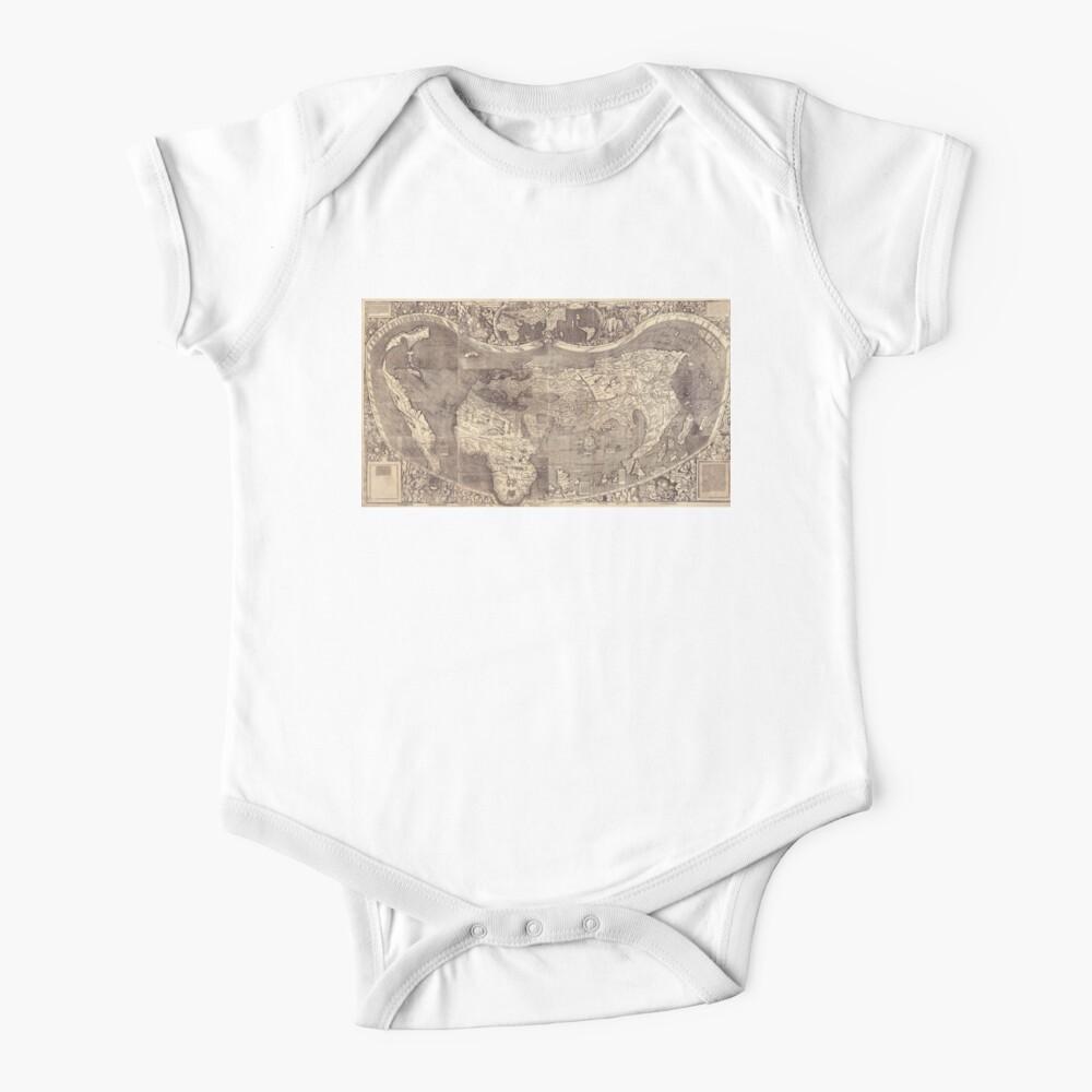 World Map 1507 Baby One-Piece