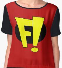 Freakazoid Chiffon Top