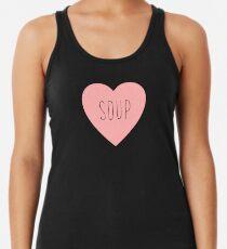 I Love Soup Heart Women's Tank Top