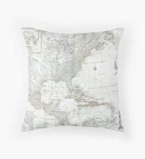 North America 1788 Throw Pillow