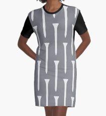 Golf Tee Graphic T-Shirt Dress