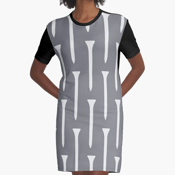 Golf Tee Graphic T-Shirt Dress