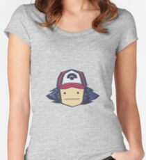 Ash - Pokemon Women's Fitted Scoop T-Shirt