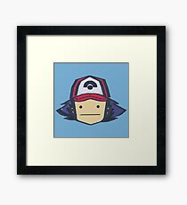 Ash - Pokemon Framed Print