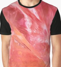 Amethyst crystals background Graphic T-Shirt