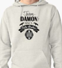 Team Damon Pullover Hoodie