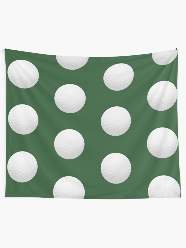 Alternate view of Golf Ball Tapestry