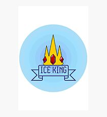 ADVENTURE TIME: Ice King Photographic Print
