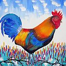 Whimsical Rooster by cathyjacobs