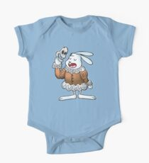 The Rabbit Quoteth Shakespeare  One Piece - Short Sleeve