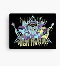 Riverbottom Nightmare Band Canvas Print