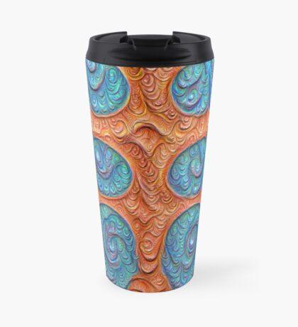 No person #DeepDream #Art Travel Mug