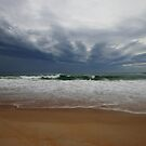 Dolphin Sands beach on a stormy day by gaylene