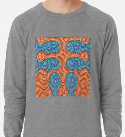 No person #DeepDream #Art Lightweight Sweatshirt