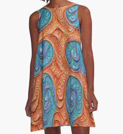 No person #DeepDream #Art A-Line Dress