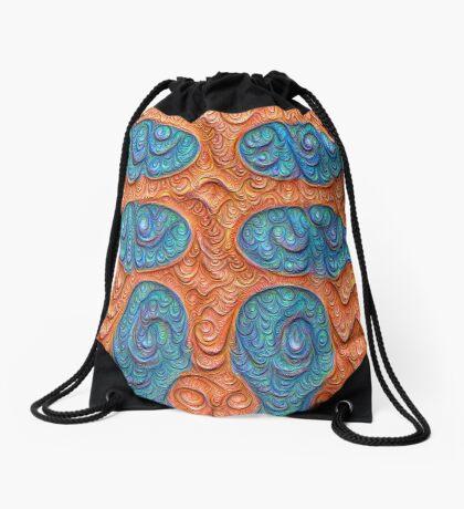 No person #DeepDream #Art Drawstring Bag