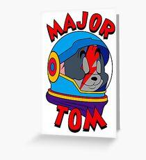 Major Tom Greeting Card