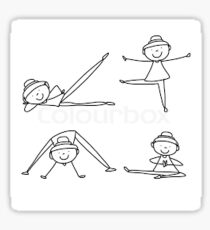 YOGA Girls Sticker