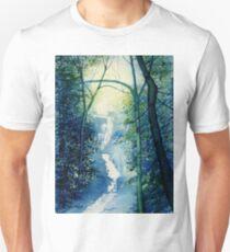 Chinese Waterfall Unisex T-Shirt