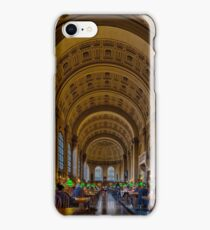 Boston Public Library iPhone Case/Skin