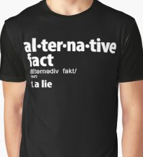 Alternative Facts Definition Graphic T-Shirt
