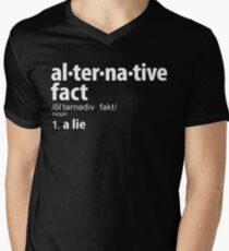 Alternative Facts Definition Men's V-Neck T-Shirt