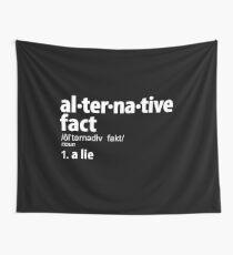Alternative Tatsachen Definition Wandbehang